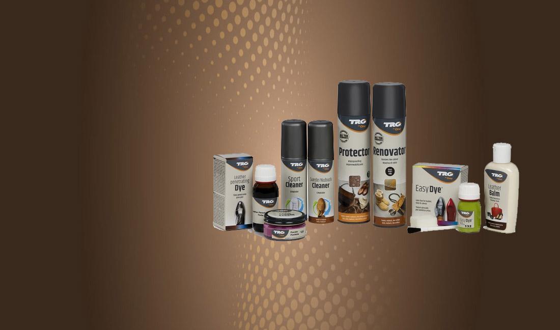 Productos para el cuidado de la piel del calzado