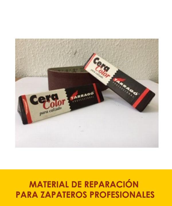 materiales de reparación para zapateros profesionales