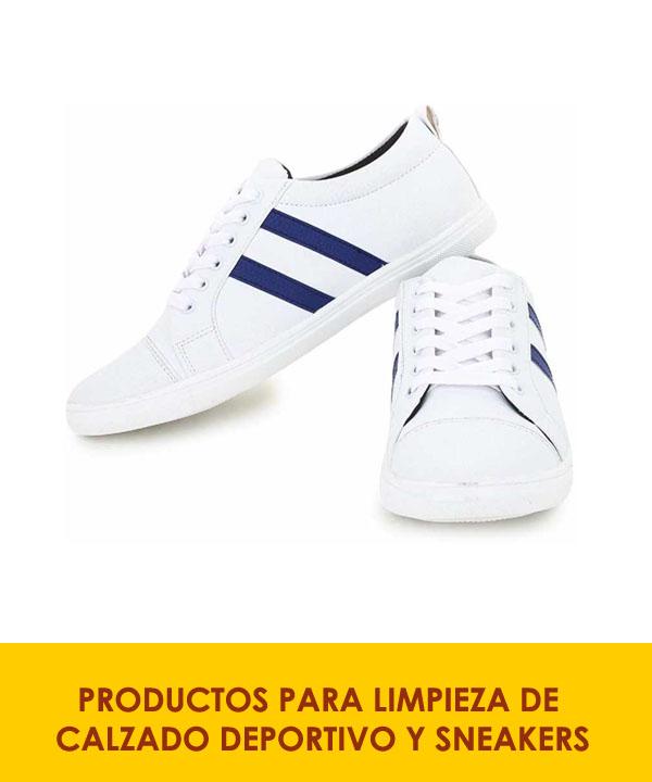 productos para limpieza de calzado deportivo y sneakers